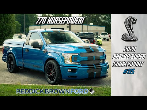770hp in a 2 door truck! The ALL-NEW 2020 Shelby Super Sport #115