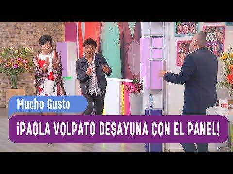 ¡Paola Volpato y Etienne Bobenrieth de Perdona Nuestros Pecados desayuna con el panel! - Mucho Gusto
