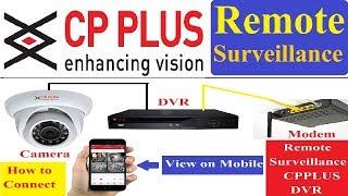 How to CP Plus DVR Online! Cp Plus Dvr Remote Surveillance!