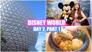 DISNEY WORLD VLOGS 2017 | DAY 2, PART 1 | EPCOT & THE ROSE GOLD EARS!
