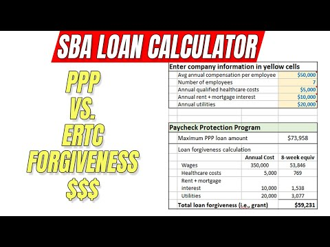 Forgivable Loan Calculator - Paycheck Protection Program PPP Stimulus Grant
