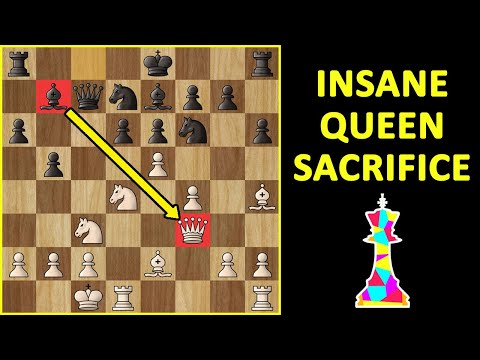 Mikhail Tal's Greatest Queen Sacrifice! Best Chess Games   Moves, Strategy, Tricks & Ideas to Win