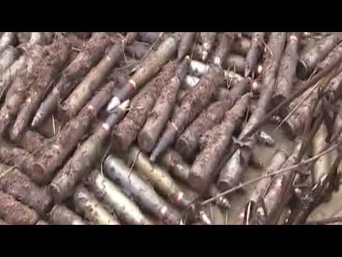 Під Зайцевим поліцейські виявили схрон боєприпасів