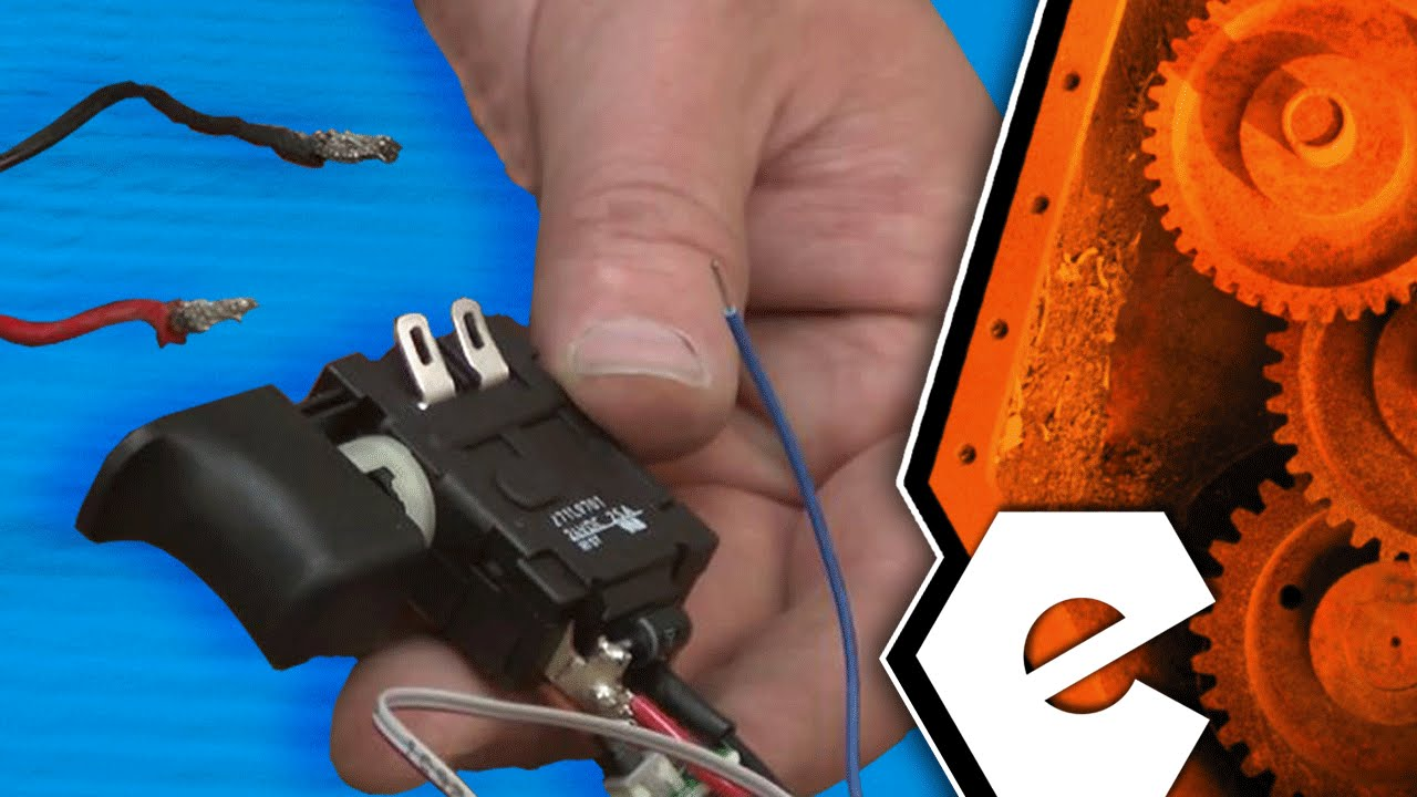 how to replace the switch on a ridgid r8641 cordless reciprocating saw part 270016155 youtube [ 1280 x 720 Pixel ]