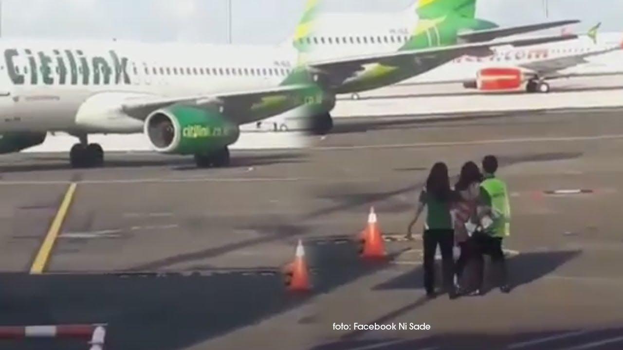 sempat viral karena ketinggalan pesawat rute denpasar jakarta rh manado tribunnews com