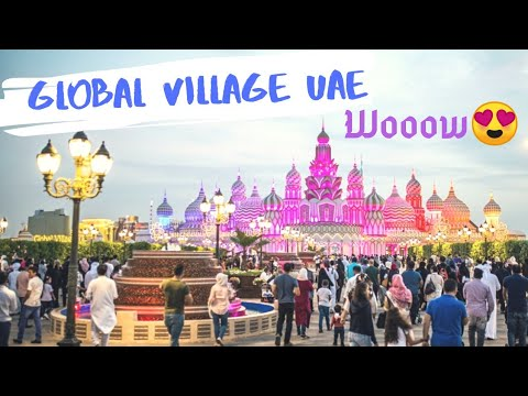 മൊഞ്ചുള്ള നാട് | UAE Travel  Vlog  | Dubai mall | Global Village | Love Lake | Shaik Zahid Masjid