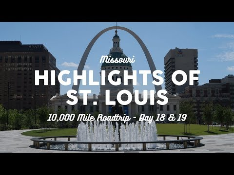 Things to Do in St. Louis: The Arch, Zoo, and Food | 10K Road Trip Vlog Days 18-19