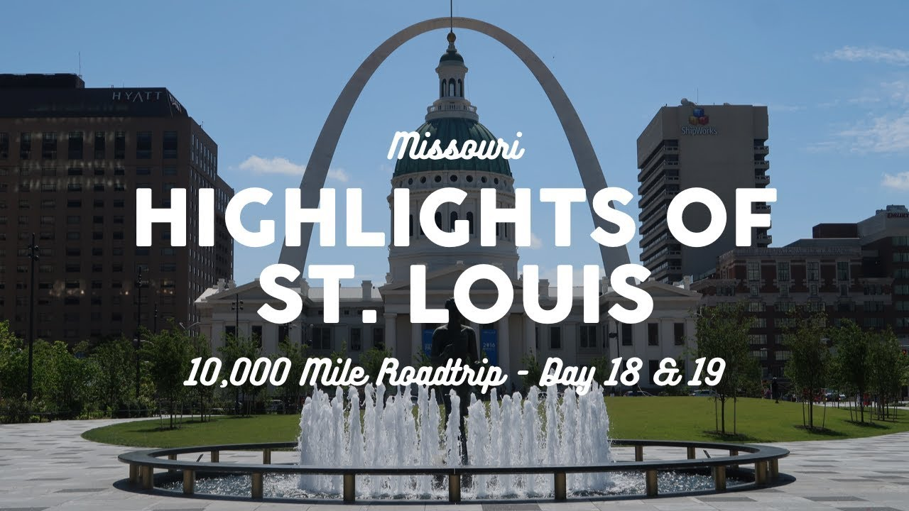 Download Things to Do in St. Louis: The Arch, Zoo, and Food | 10K Road Trip Vlog Days 18-19