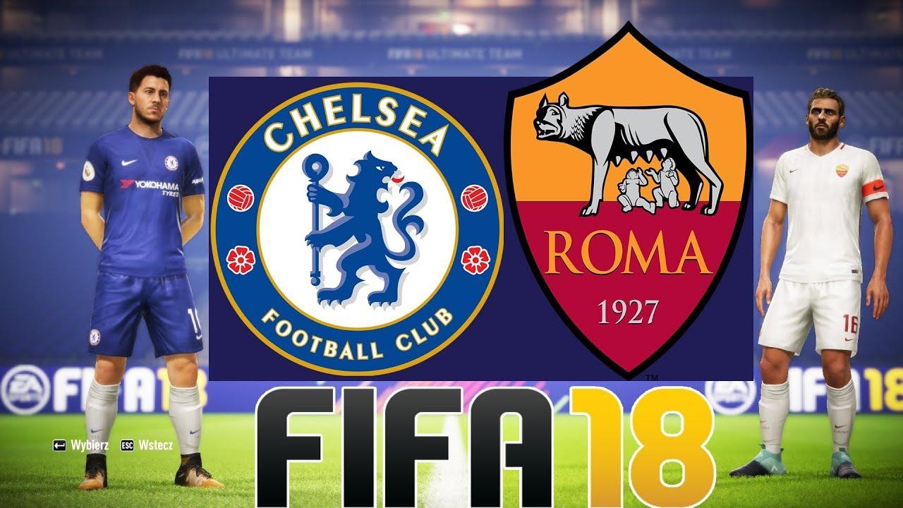 "CHELSEA F.C. vs AS ROMA | FIFA 18 LIGA MISTRZÓW UEFA ""POJEDYNKI ONLINE"" HOGATY VS SYLO #03 [PL/PC]"