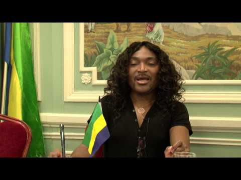 Gabon - landry alias lanlaire - Conférence du 7 mars 2015   Partie2/3