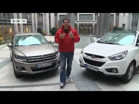 Hyundai ix35 vs. VW Tiguan drive it