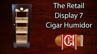 The Retail Display 7 Cigar Humidor