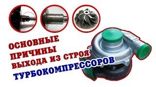 Основные причины выхода из строя турбокомпрессоров(, 2017-01-19T10:15:03.000Z)