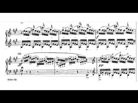 J.B. Cramer Fifty Selected Piano Studies No. 5