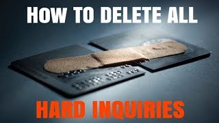Full Tutorial: DIY Hard Inquiry Removal | Credit Healing