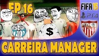 FIFA 15 CARREIRA MANAGER - #EP16 UM PACOTÃO DE REFORÇOS!