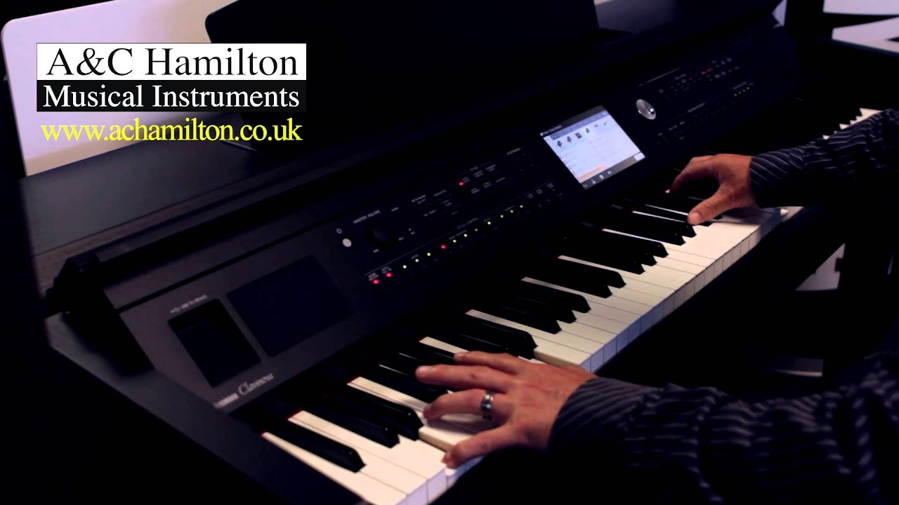 yamaha cvp 705 voice styles piano room demo a c. Black Bedroom Furniture Sets. Home Design Ideas
