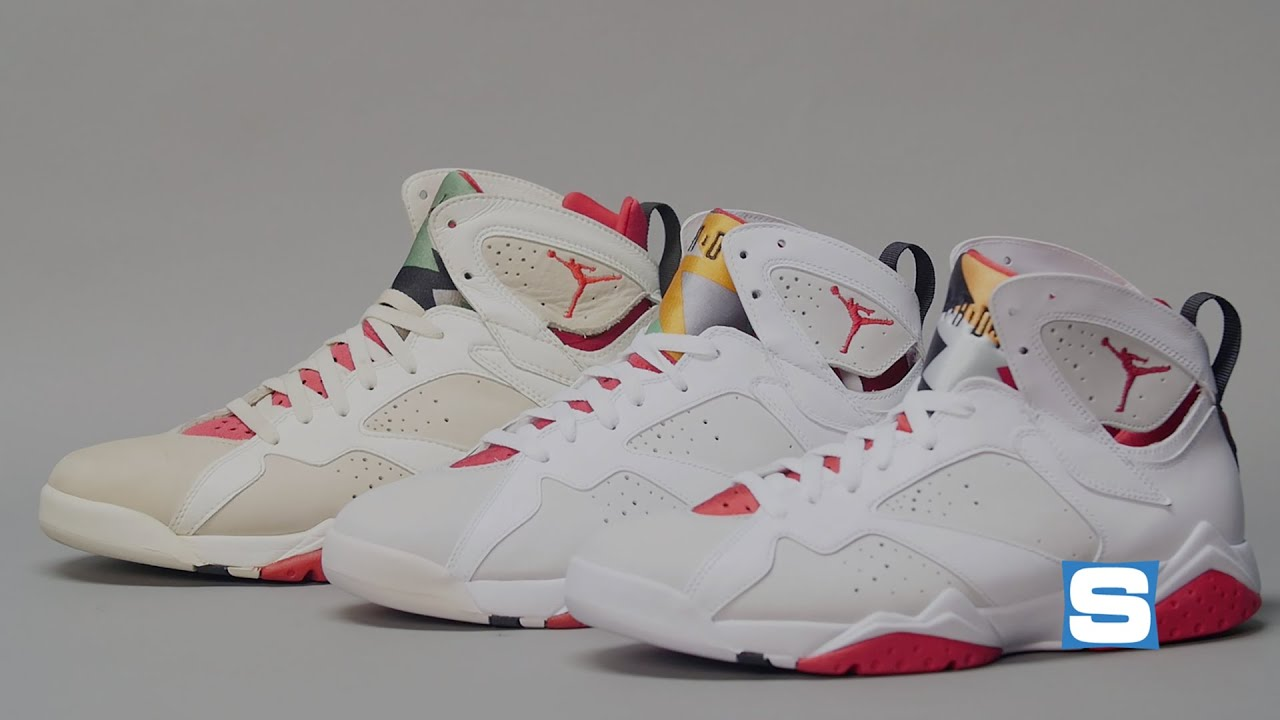 best sneakers b7c47 fca14 Air Jordan 7 Hare Retro vs. 1992 Original | Retrograde