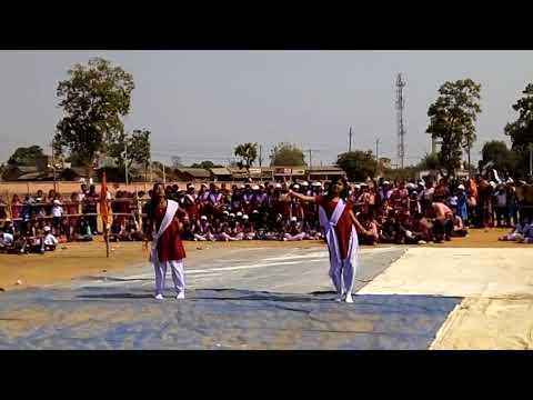 Mu khanti odia jhia dance by subirna biswal girls school khamar