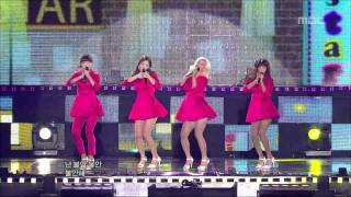 Sistar - Shady Girl, 씨스타 - 가식걸, Music Core 20101002