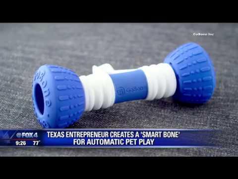 Inventor creates 'smart bone' for dogs