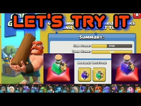 LET's TRY MAGICAL SPELL's : CLASH OF CLAN
