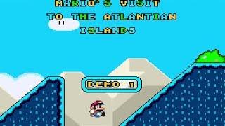 Mario's Visit to the Atlantian Islands (Demo) • Super Mario World ROM Hack