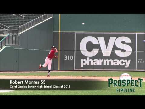 Robert Montes Prospect Video, SS, Coral Gables Senior High School Class of 2015