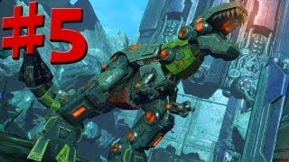 Transformers Fall Of Cybertron - Walkthrough - Part 5 - Let