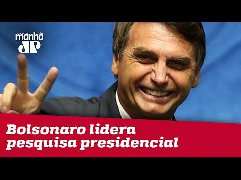 Bolsonaro Lidera Pesquisa Presidencial Em Três Cenários; Confira