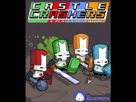Castle Crashers 4.Bölüm Amerikan Oyunları Ve Solak Panda