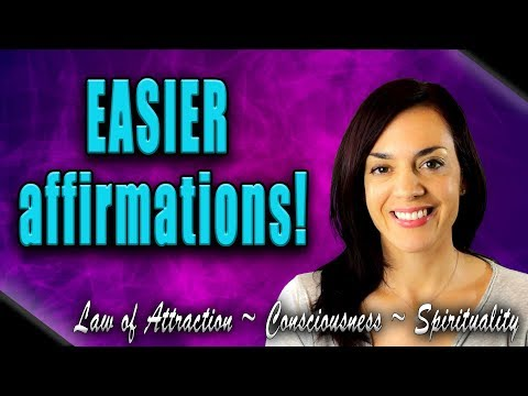 Affirmations and the Law of Attraction (Quick Tip!)