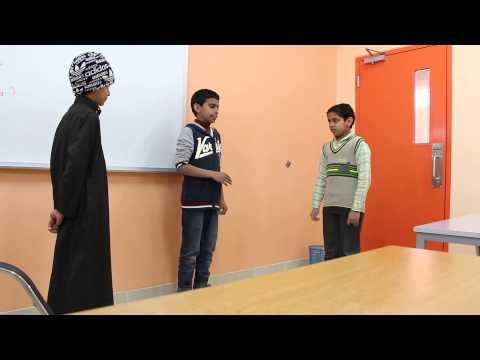 تدريب طلاب مدرسة الشيخ محمد بن عبدالوهاب على الترجمة الفورية