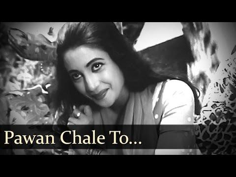 Pawan Chale To - Dev Anand - Suchitra Sen - Bambai Ka Babu - Old Bollywood Songs
