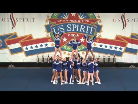 Attleboro High School Varsity Co-ed cheer 2015 National Champions