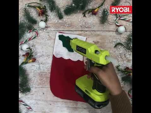 Ryobi Winter Crafts: Create Your Own Christmas Stocking