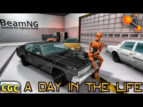 A Day In The Life of a DUMMY BeamNG Drive