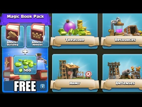 Clash Of Clans - HOW TO GET ADEPT BUILDER PACK FREE!