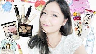 Japanese Makeup & Skincare Haul: Canmake, Majorca Majolica, KATE, Lululun, Sana, Hada Labo