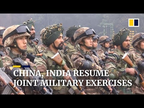 China and India resume annual joint military exercises