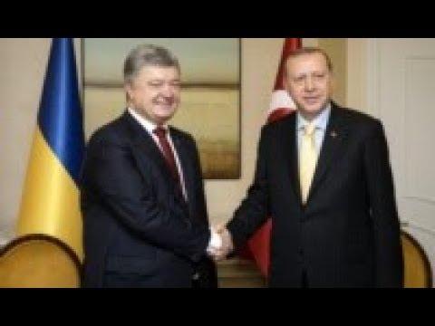 За миротворцев и против аннексии. Визит турецкого президента в Киев | Радио Крым.Реалии