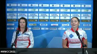 Draw 15 Media - 2021 LGT WORLD WOMEN'S CURLING - Einarson (CAN) vs. Muirhead (SCO)