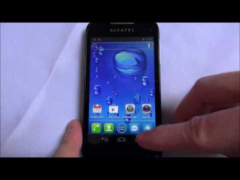Alcatel One Touch OT-997D - First run & Dual-SIM Settings | German / Deutsch
