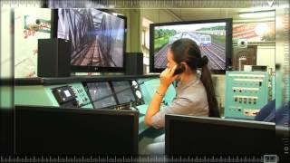 Учебный тренажер машиниста электропоезда ЭД4М