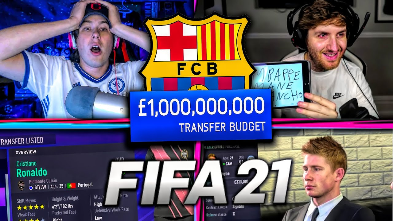 FIFA 21 Career Mode £1,000,000,000 CHALLENGE! vs. MattHDGamer