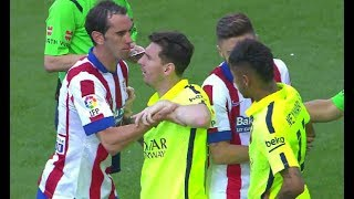 Neymar Jr & Lionel Messi Fighting For Each Other ► Defending & Protecting Each Other | HD
