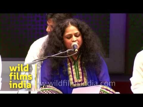 Mesmerizing Ghazal music by Indira Naik at Sufi Festival in India