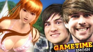 BEACH BUTT BUMPING (Gametime w/ Smosh)