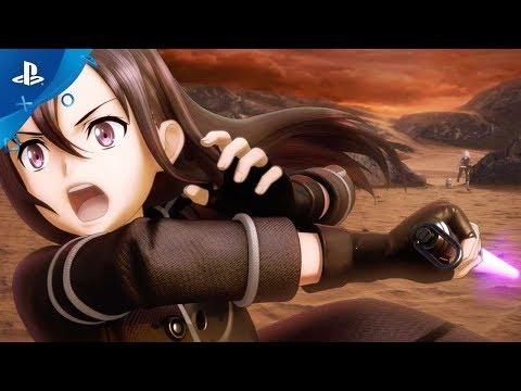 Sword Art Online: Fatal Bullet - Announcement Trailer   PS4