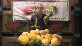 The Produce Beat - Crenshaw, Santa Claus, Gala, Orange Flesh & Casaba Melons
